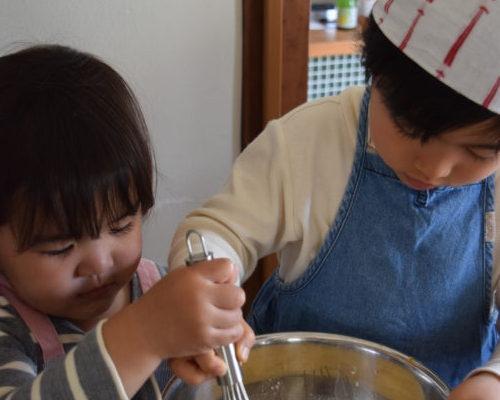夏休み子ども料理教室 季節の保存食つくり